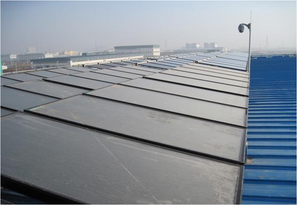 400平方米太阳能集热板